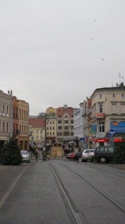 Bydgoszcz, Polen: Bridge Street