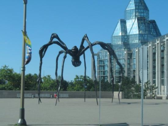Ottawa, Canada: This is not the spider thats in london for some sad reason I think either 6 or 8 were made which