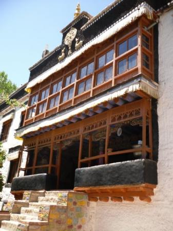 Leh, India: Sankar Gompa