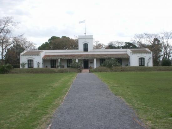 San Antonio de Areco. Parque Criollo y Museo Gauchesco. El Museo. Obra de José María Bustillo co
