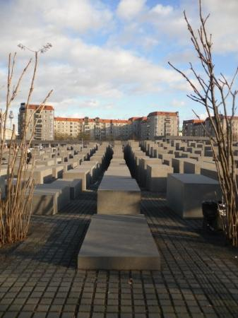 The Holocaust Memorial: Memorial to the murdered Jews of Europe