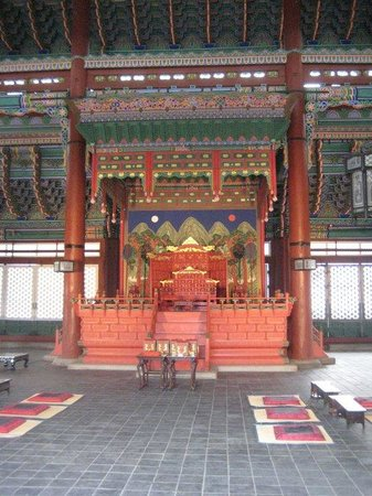 Gyeongbokgung: seoul- throne number 2