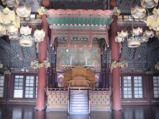Changdeokgung Palass: seoul- throne