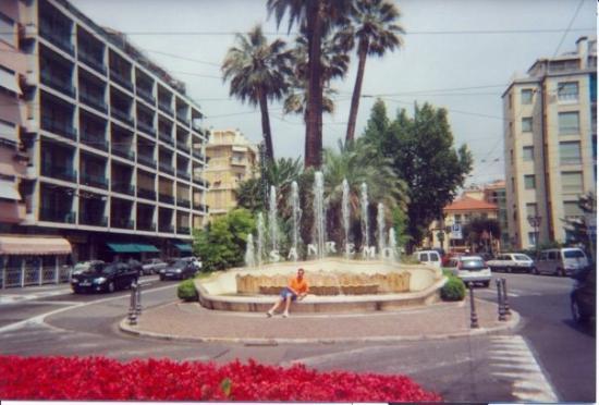 Sanremo, Italien: San Remo - beruchte fontein