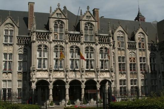 Liège, Belgia: The city hall of Liege.