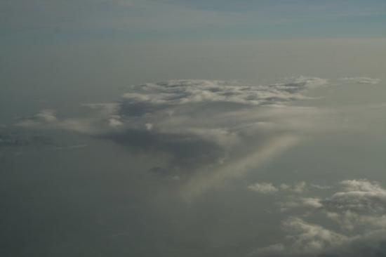 Liège, Belgia: The clouds at 30,000 feet