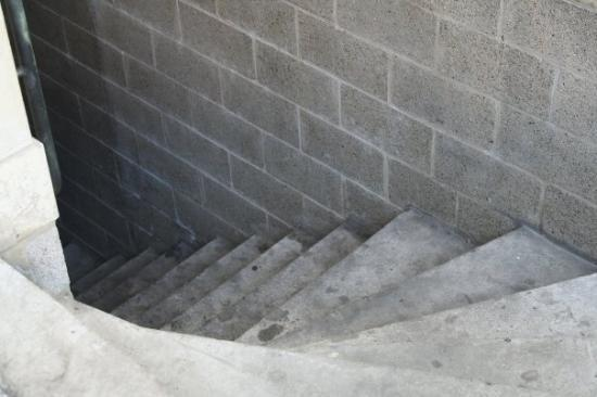 Liège, Belgia: These stairs went down to......