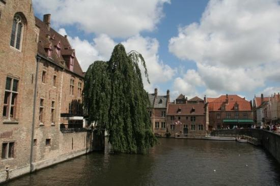 Liège, Belgia: Brugge used to be a port city that was so wealthy that one fountain had wine flowing from it. Th