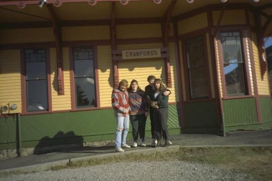 Betlehem, NH: Matt, Tricia, Steve, Bronya