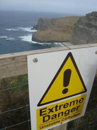 Lahinch, Irland: O spėkit kur mes ką tik vaikščiojom :P