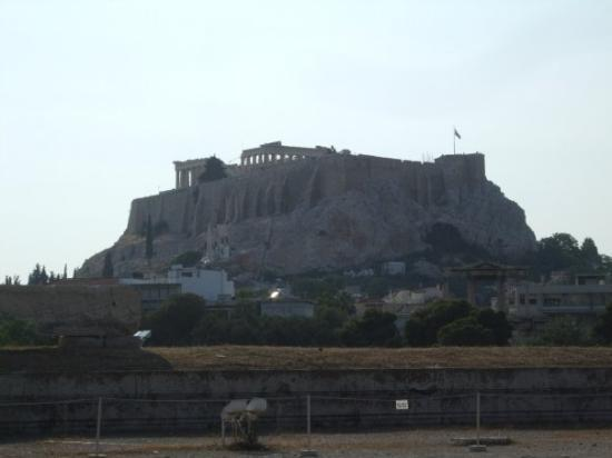 Akropolis: the acropolis from the temple of zeus