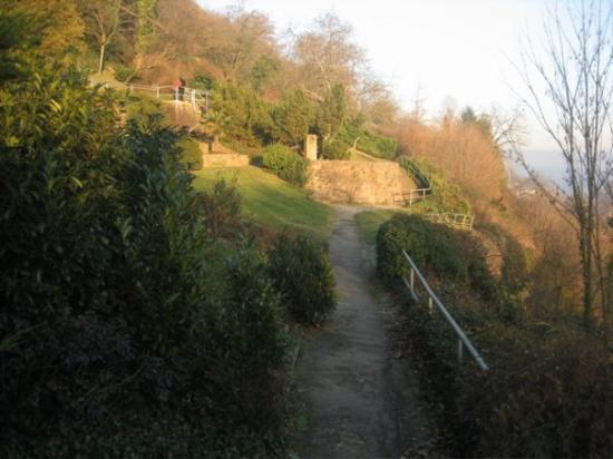 Philosophers' Way (Philosophenweg): The entrance to Philosopher's Way.