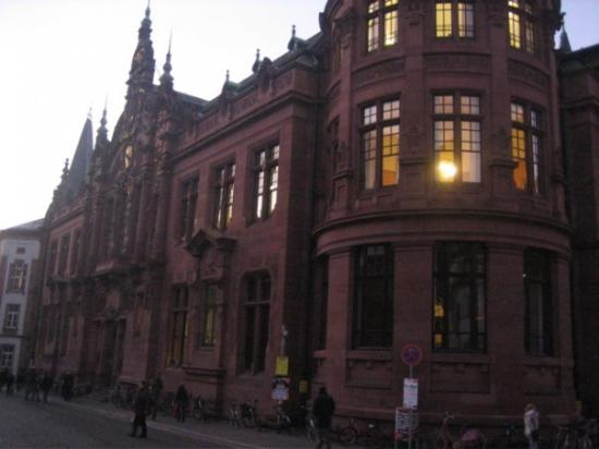 University Library (Universitatsbibliothek): Part of my mission was to find the old university grounds where my grandfather had attended scho
