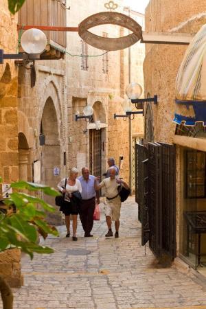 Old parts of Tel Aviv