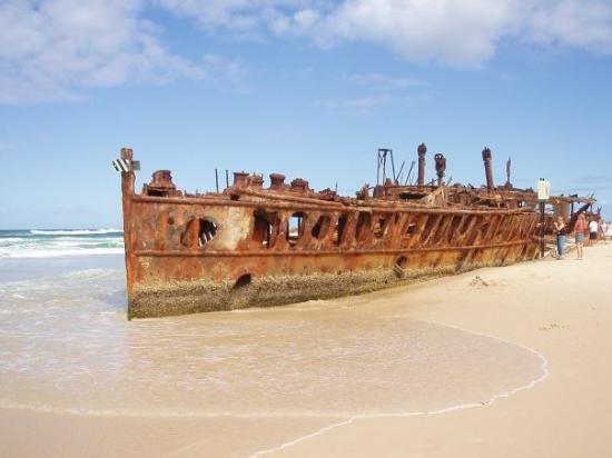 Maheno Wreck: Fraser Island