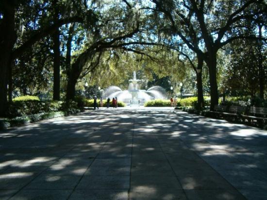 Forsyth Park: The Fountain at Forsythe Park.