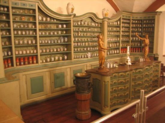 Heidelberg slott: The Apothecary Museum.