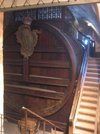 Heidelberg slott: The Great Barrel in the Barrel Building.