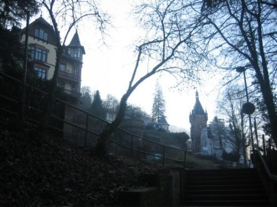 Heidelberg was one of the few German towns to survive WWII in tact, and there are beautiful old