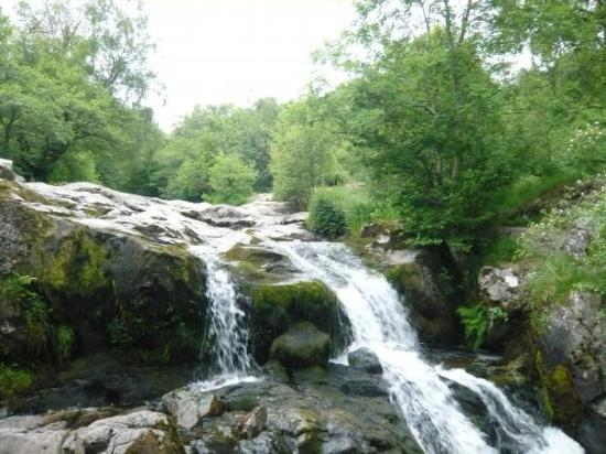 Aira Force below Gowbarrow Fell - the hike is abt 6 miles up and around mountain and takes abt 4