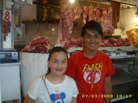 Ciudad Nezahualcoyotl, Mexico: Fresh pork!