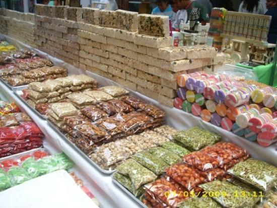 Ciudad Nezahualcoyotl, Mexico: Mexican traditional candy for sale
