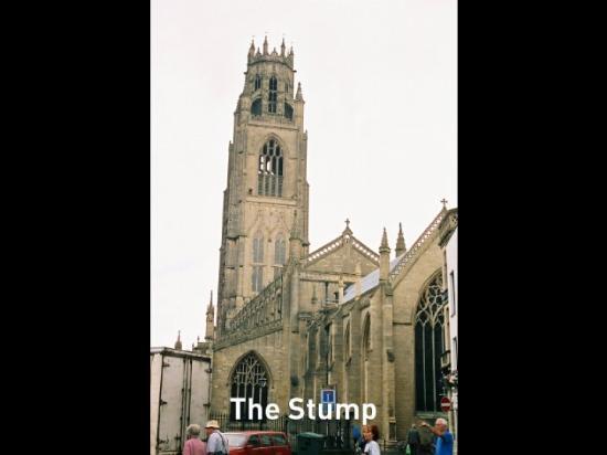 "THE ""STUMP"", OLDEST PARRISH CHURCH IN BOSTON, ENGLAND"