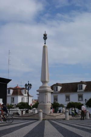 Vila Real de Santo António, Portugal: VRSA square