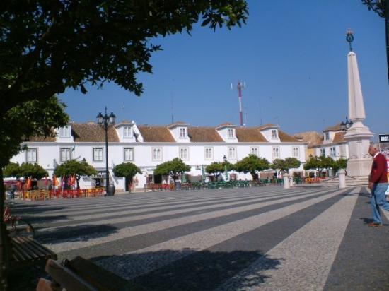 Vila Real de Santo António, Portugal: Praca Marques de Pombal