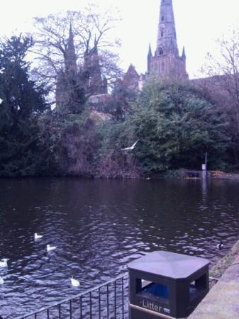 Lichfield Cathedral: catherdral / duck massacre