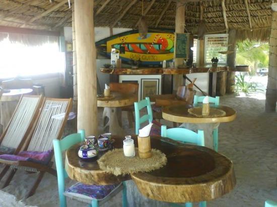 Holbox Hotel Mawimbi: El restaurante del hotel..