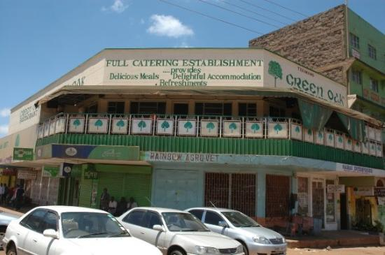 Nyeri, Kenya: Green Oak (place 2 party!)