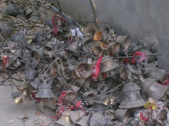 Bageshwar, India: bells