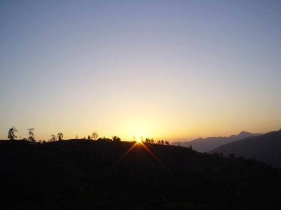 Kingston, Jamaica: coucher de soleil blue mountains