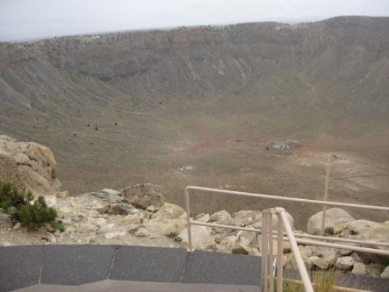 Flagstaff, AZ: Think again! Here is the real crater!