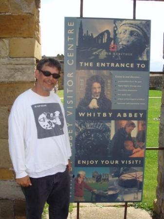 Ah yes, welcome to Whitby Abbey!