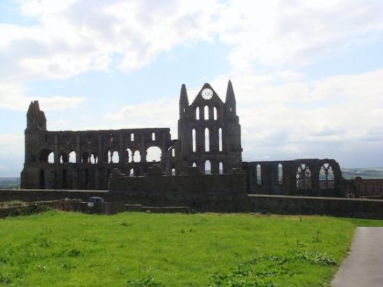 The Whitby Abbey ~ destroyed by Henry VIII (well, obviously not completely destroyed)