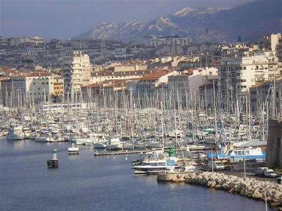 Sofitel Marseille Vieux-Port: view from room