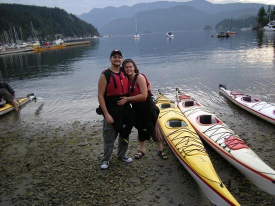 Deep Cove, Canada: el agua estaba como un plato, con focas nadando al lado de los barcos