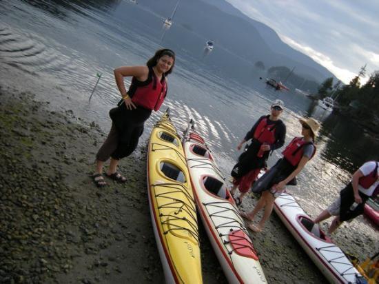 Deep Cove, Canada: preparandonos para salir