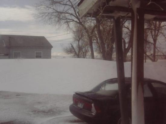 Rapid City, SD: These pics are being taken from inside my house