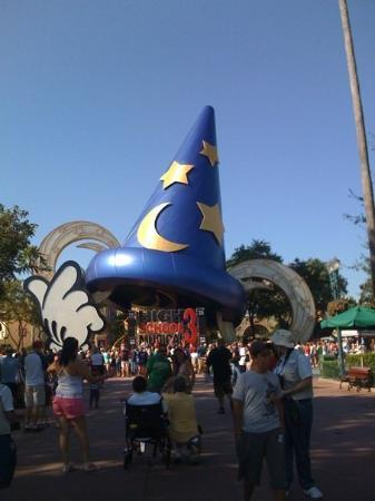 Disney's Hollywood Studios: Hollywood Studios. We are there