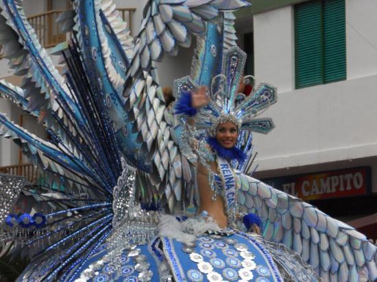Puerto de la Cruz, Spania: Karnevalskoenigin 2010