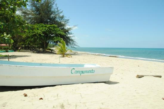 Trujillo, Honduras: the beach... was beautiful