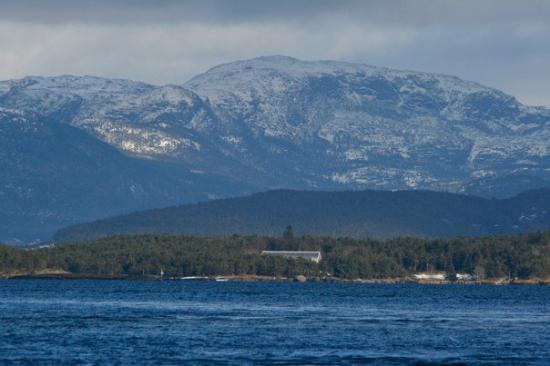 Stavanger, Norge: Beautiful scenery...it was beginning to snow at this point