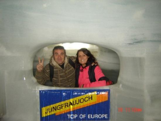 Interlaken, Sveits: JUNGFRAU-MUSEO DEL HIELO