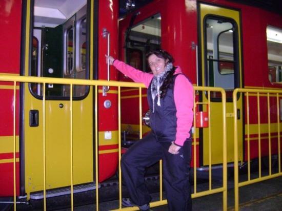 Interlaken, Sveits: ESTACION DEL JUNGFRAU