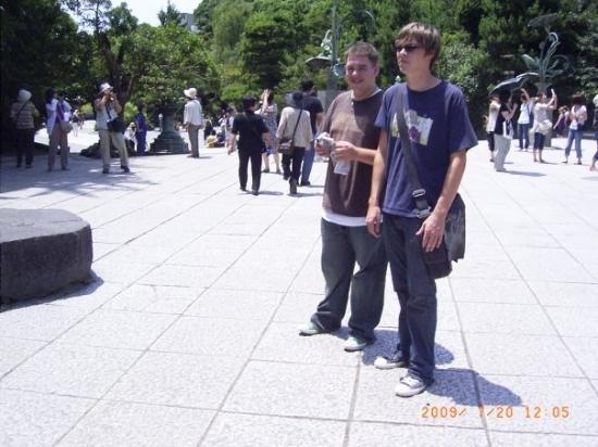 Kamakura, Japan: devin and I