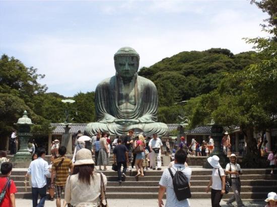 Kotoku-in (Great Buddha of Kamakura): great diabutsu.