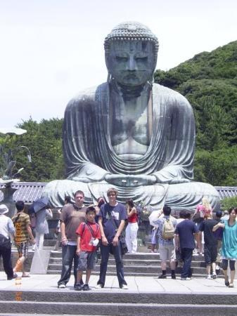 Kotoku-in (Great Buddha of Kamakura): he was huge.